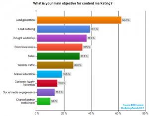 B2B marketing rapport: Vi laver indhold for at generere leads