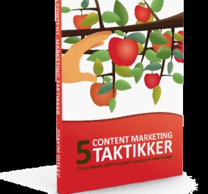 E-bog med taktikker til content marketing