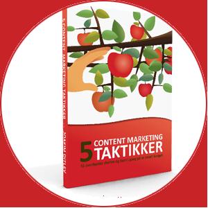 Ny e-bog med 5 brugbare taktikker til content marketing