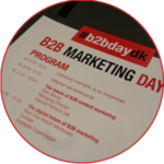 B2B Marketing Day 2016