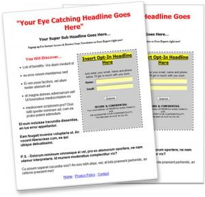 Landing pages. Hvornår skal du gemme dit indhold bag en kontakt formular