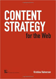 Content strategy for the web bog