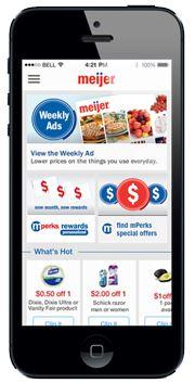 Meijers mobile app