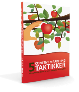 E-bog med taktikker til content marketing
