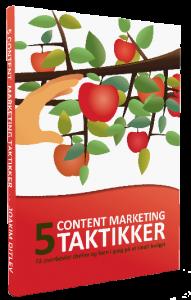 5 Content Marketing Taktikker er ude nu