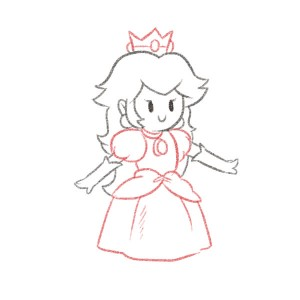Målet for kunderejsen = at redde prinsessen