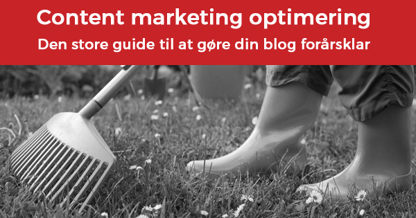 Content marketing optimering