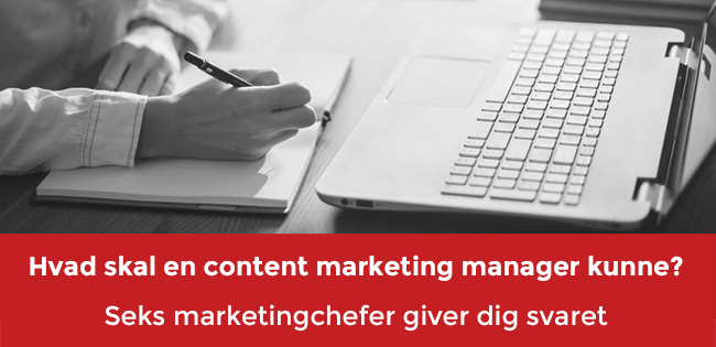 Content marketing manager header