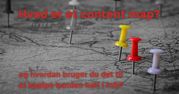 Hvad er et content map