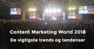 Content Marketing World 2018