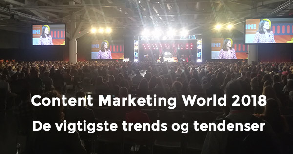 Content Marketing World 2018