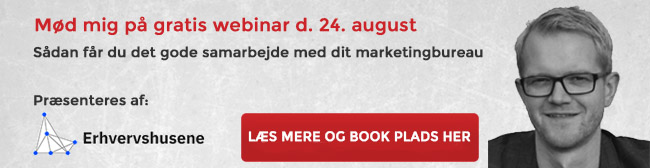 Webinar om at vælge marketingleverandør